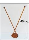 Βάση κονταράκι - Διπλό ξύλινο